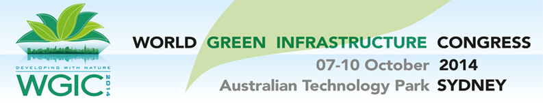 2014 WORLD GREEN INFRASTRUCTURE CONGRESS