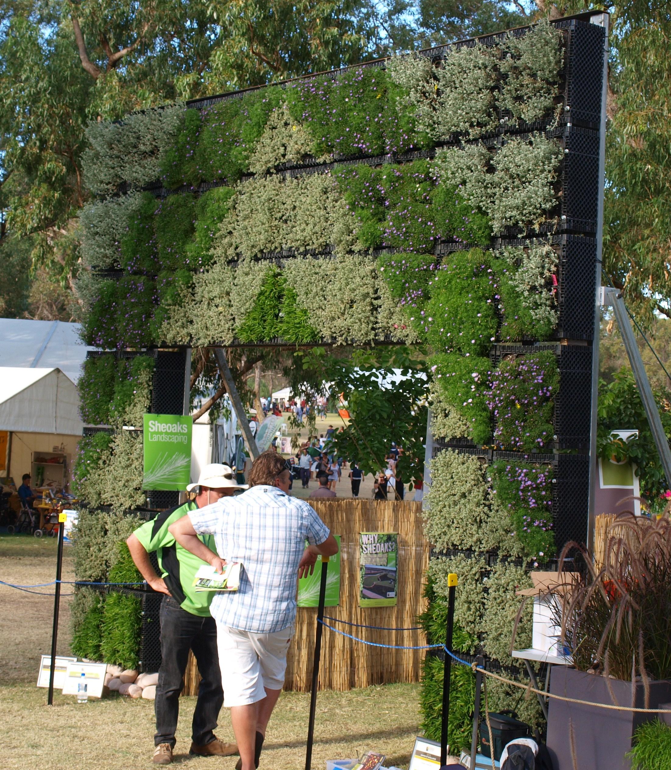 Vertical Garden/Green Wall Perth Garden Week 2011