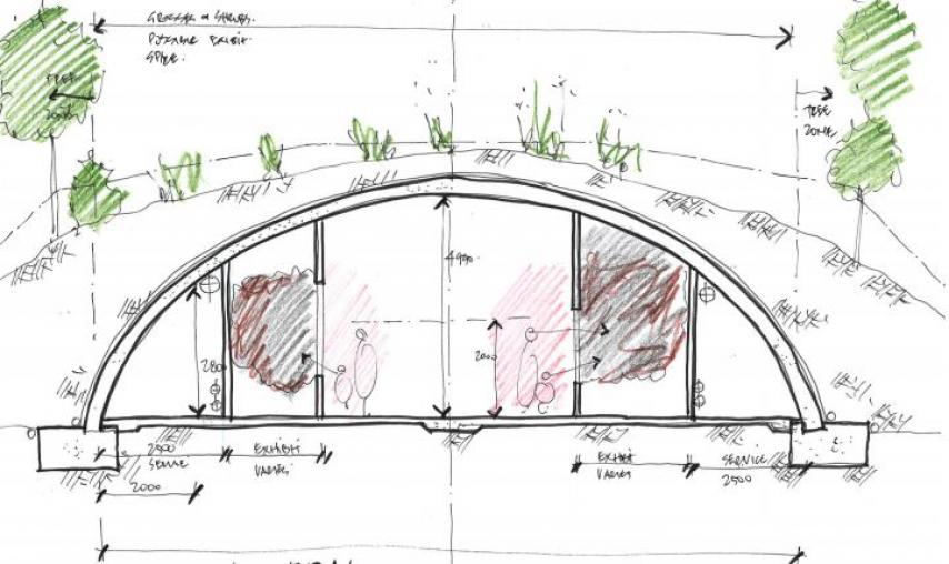 Sydney-Zoo-Green-Roof-Building-sketch