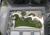 Freshwater Place Melbourne aerial view (photo Fytogreen Australia)
