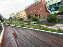 Sloping Roof Garden, Fytogreen, Great Hall Uni SA, Green Roof, Adelaide